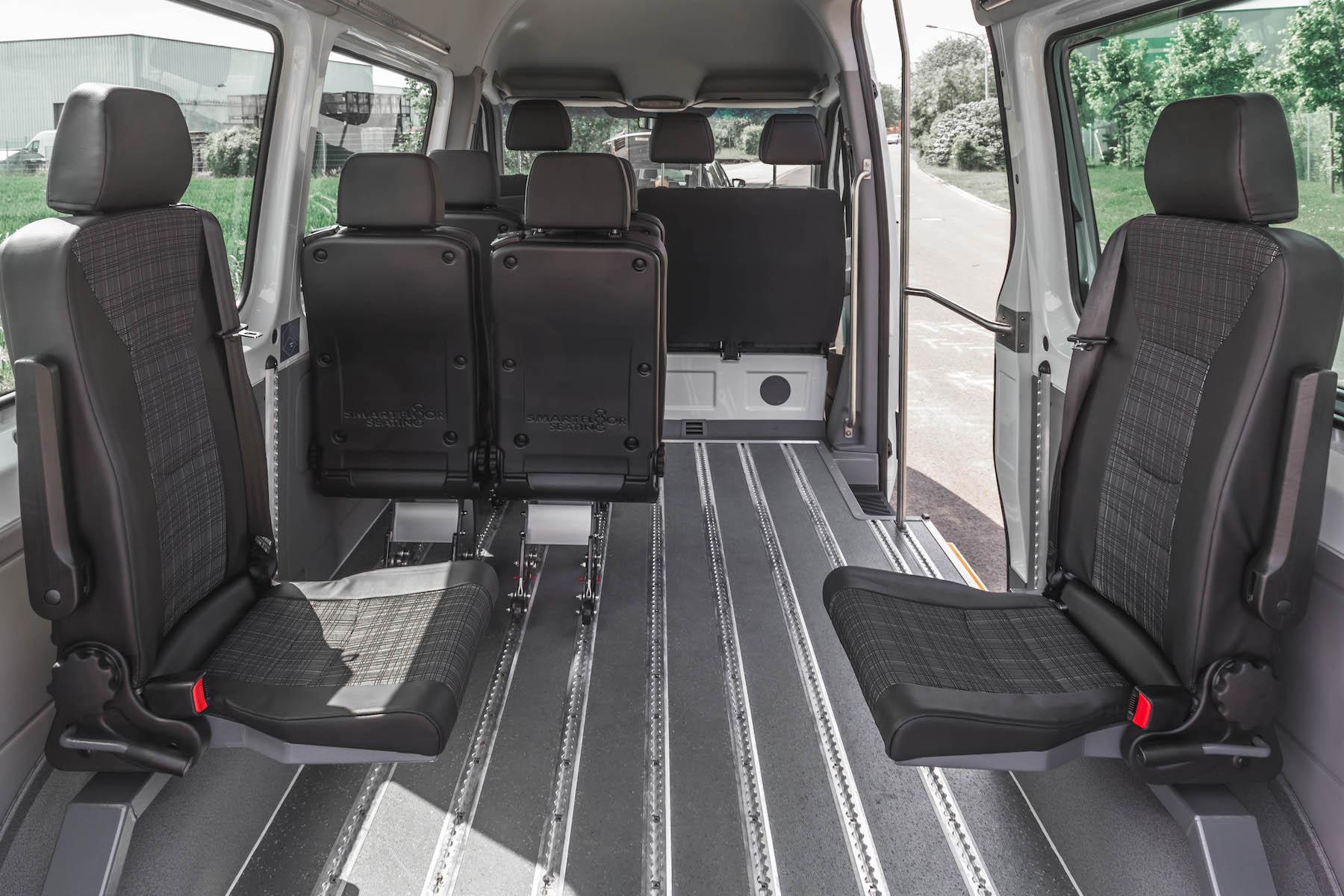Indeling bus & stoelen smartfloor 3551 kopie